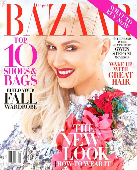 Gwen Stefani: Sigue adelante [Harper's Bazaar]
