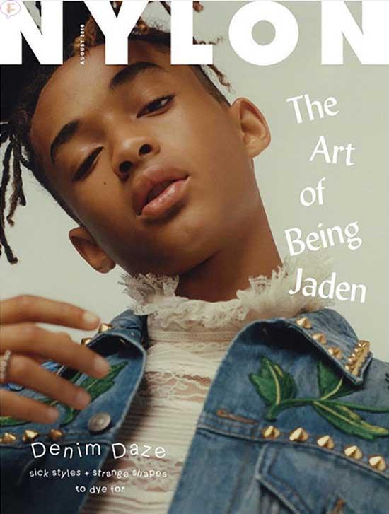 Jaden Smith en Nylon magazine
