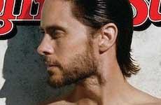 Jared Leto sin camiseta en Rolling Stone
