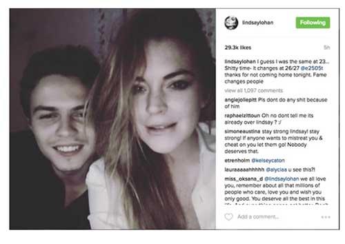 Lindsay Lohan acusa a su prometido de infiel - Embarazada?