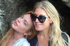 Lindsay Lohan no está embarazada!! Duh! Su padre dice que si!