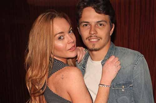 Lindsay Lohan pelea con su novio en su Bday!?