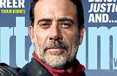 Negan de Walking Dead en Entertainment Weekly