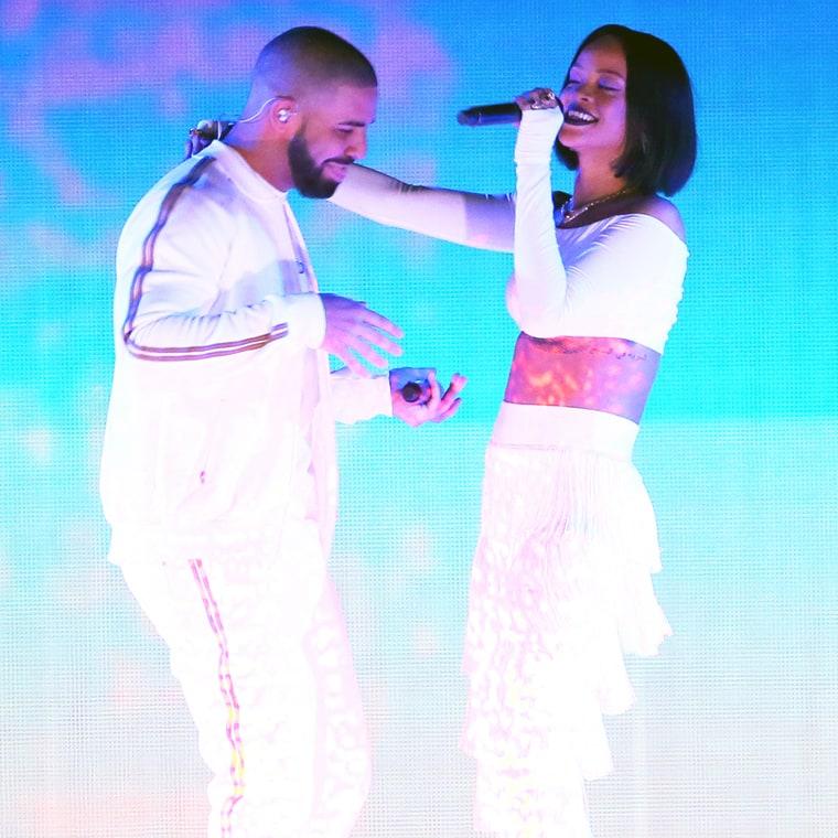 Rihanna y Drake saliendo? Promo para su Tour?