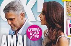 Amal Clooney tendrá una niña!  [OK!]