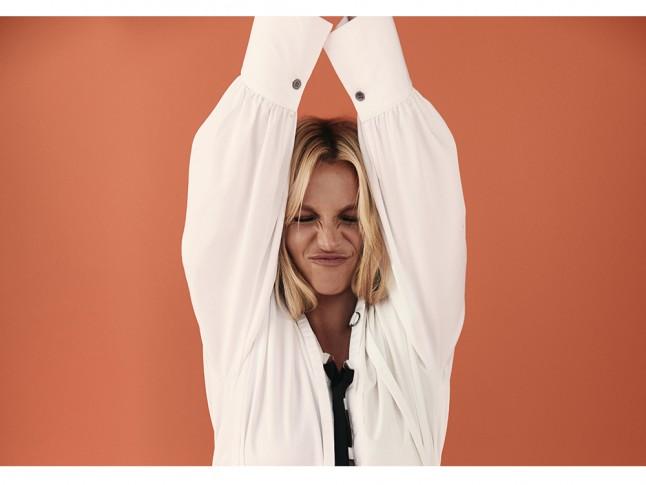 Britney Spears en Marie Claire