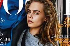 Cara Delevingne en Vogue UK