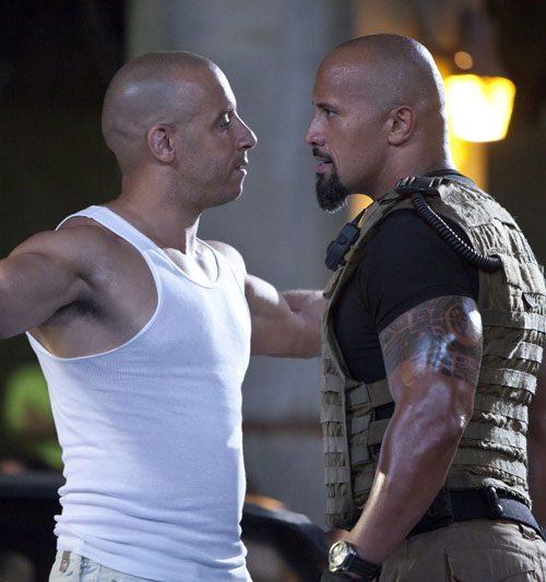 """Dwayne """"La Roca"""" Johnson llama cobarde a Vin Diesel?"""
