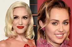Gwen Stefani celosa de Miley Cyrus? WTF?