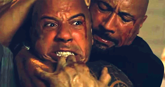 Fast 8: Vin Diesel irresponsable. The Rock wins!