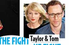 Taylor Swift y Tom Hiddleston se pelearon!