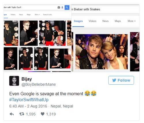 Justin Bieber despreció a Taylor! Team KimYe!