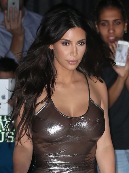 Kim Kardashian y su looks transparentes en NYC