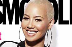 Amber Rose en Cosmopolitan – Channing Tatum era Stripper