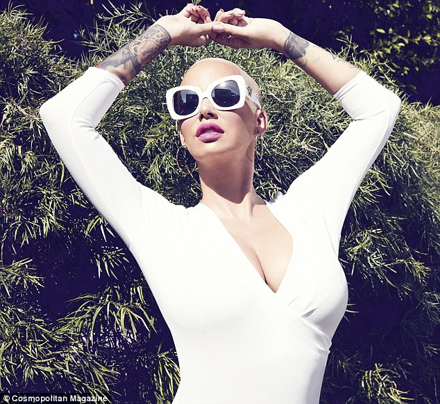Amber Rose en Cosmopolitan - Channing Tatum era Stripper