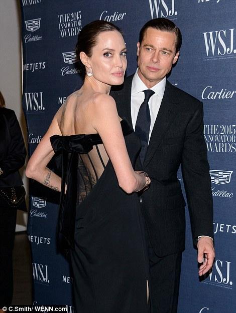 Brad Pitt peleará con Angelina por la custodia de sus hijos!
