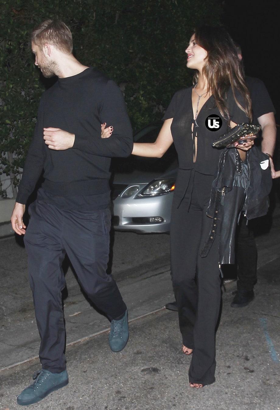 Calvin Harris saliendo con Eiza Gonzalez