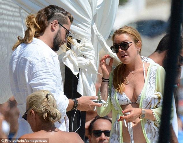 Lindsay Lohan tiene nuevo novio