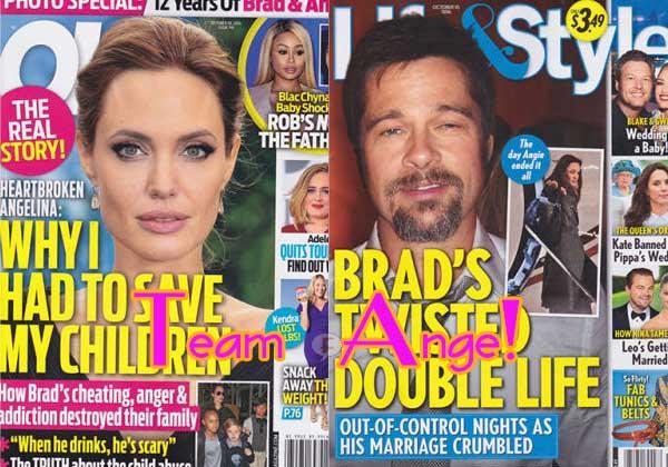Tabloides! Team Angelina: OK! y Life&Style