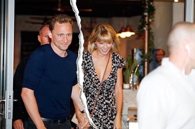 Taylor Swift y Tom Hiddleston terminaron!!  WHAT?