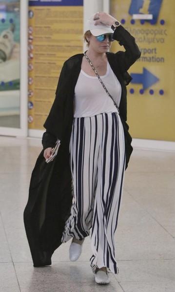 Lindsay Lohan casi pierde un dedo! OUCH!