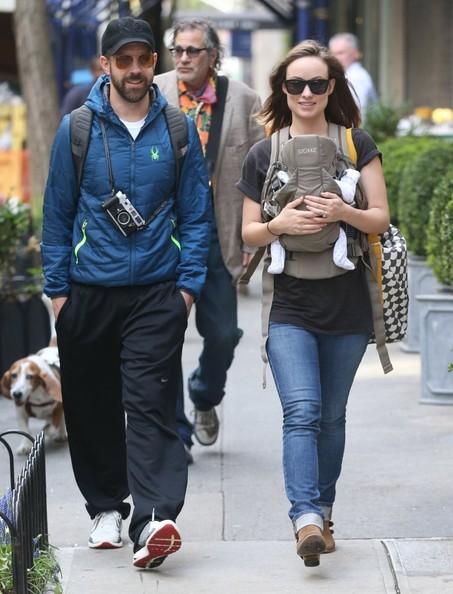 Olivia Wilde y Jason Sudeikis tuvieron una niña!