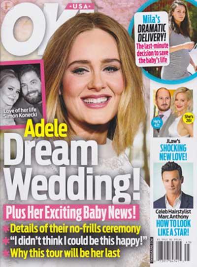 Adele tiene la boda de sus sueños! [OK!]