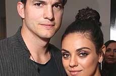 Ashton Kutcher y Mila Kunis tendrán un niño!