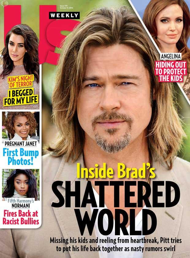 Por que Brad accedió dar la custodia a Angelina [Us]