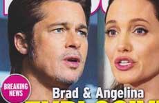 Brad & Angelina: Pelea explosiva cara a cara [InTouch]