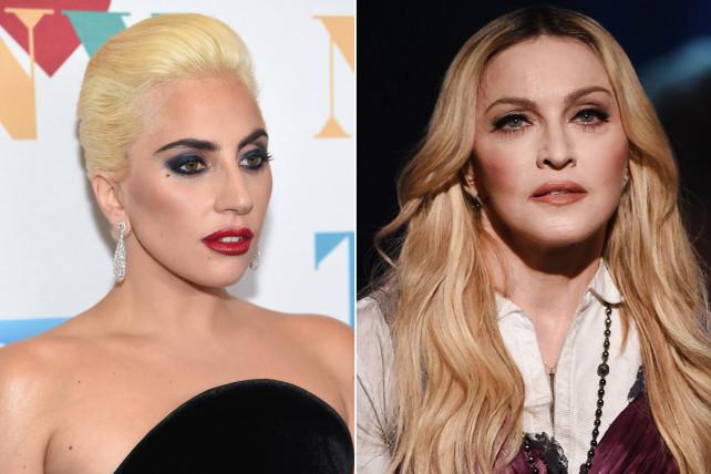 Lady Gaga se molesta por comparación con Madonna