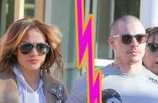 Jennifer Lopez terminó con Casper Smart por infiel!