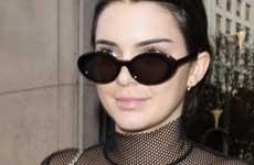 Kendall Jenner ama mostrar sus titis!