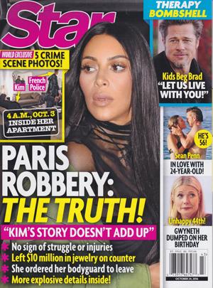 La verdad del robo a Kim en París [Star]