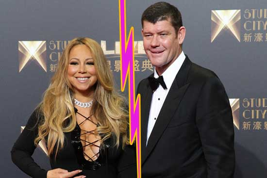 James Packer botó a Mariah Carey! LOL! WHAT?