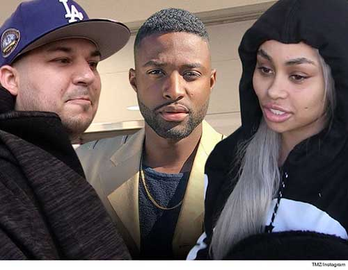 Rob Kardashian amenaza a rapero por foto con Blac Chyna