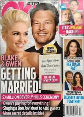 Gwen Stefani y Blake se casan? Nah! [OK!]