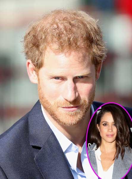 El Príncipe Harry defiende a su novia Meghan Markle de los medios