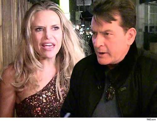 Brooke Mueller fugada con los hijos de Charlie Sheen