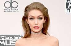 Gigi Hadid, racista por imitar a Melania Trump? (AMAs)