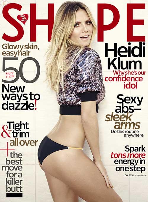Heidi Klum: el mito de que las modelos no comen es falso
