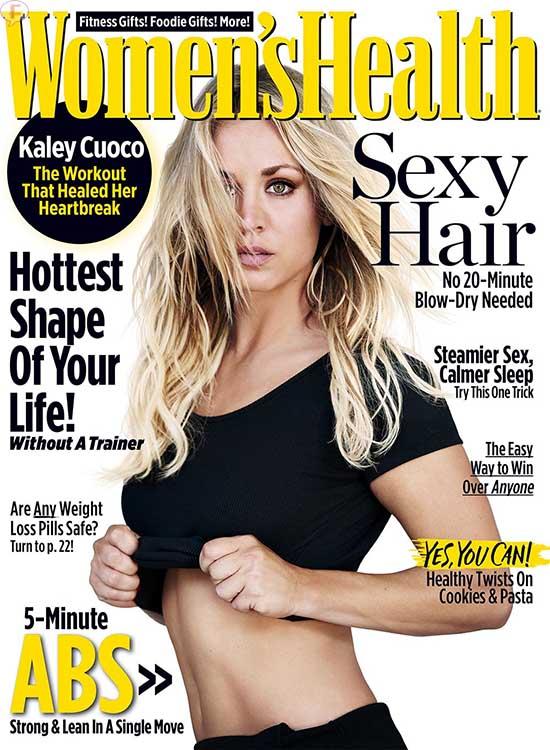 Kaley Cuoco revela cirugias plásticas, dieta y workout!