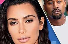 Kim y Kanye peleando antes de la hospitalización [Us]
