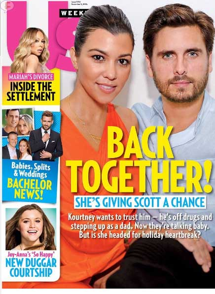 Kourtney Kardashian y Scott Disick volvieron! [US]
