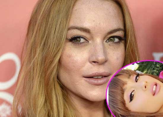 Lindsay Lohan ataca a Ariana Grande en Instagram