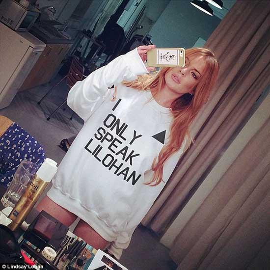 Lindsay Lohan lanza linea de ropa Lilohan