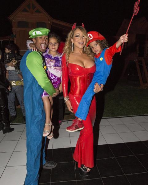 Celebridades en Halloween 2016