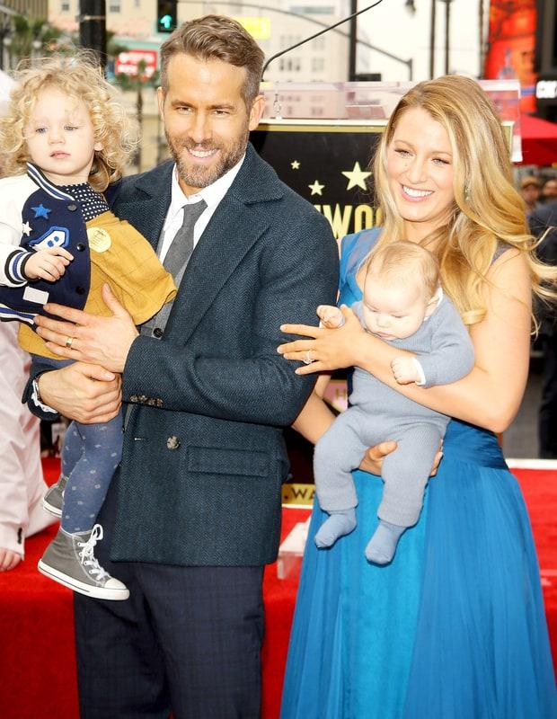 Nombre de segunda hija de Ryan Reynolds y Blake Lively revelado