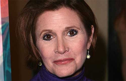 Murió Carrie Fisher, la Princesa Leia. Tenia 60 años.