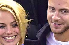 Margot Robbie se casó con Tom Ackerley en Australia